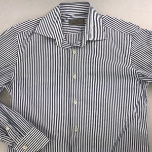 CANALI LONG SLEEVE DRESS SHIRT 15 - 32/33